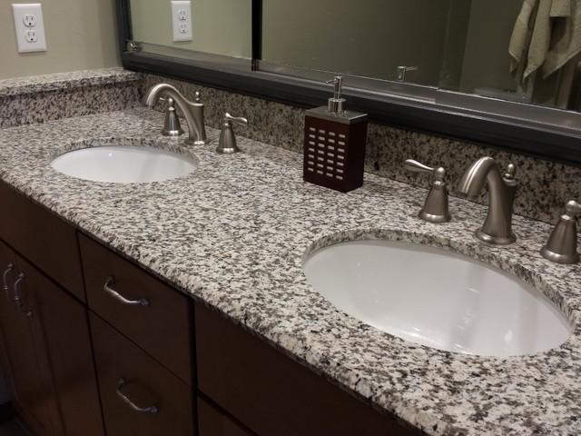 tiger skin granite countertops modern bathroom cedar. Black Bedroom Furniture Sets. Home Design Ideas