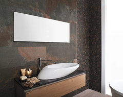 TIle modern bathroom