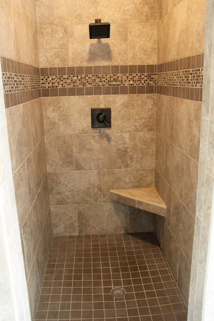 Tile Shower Traditional Grand Rapids By