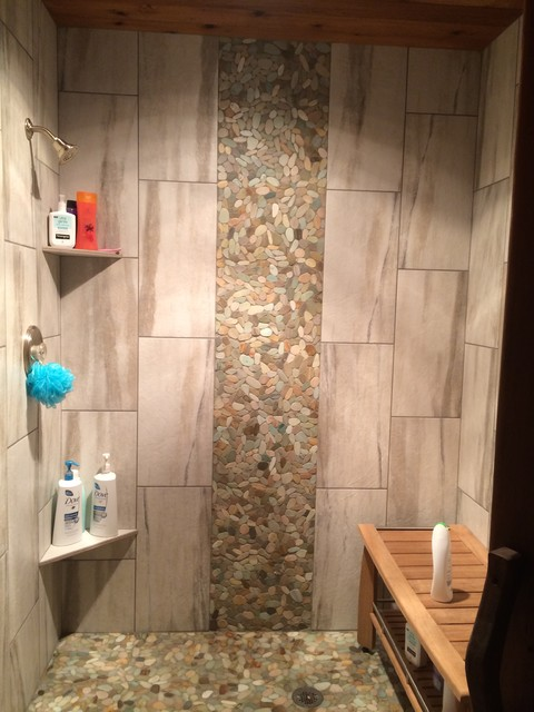 Tile Shower Waterfall
