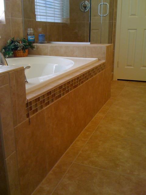 Tile Showers traditional-bathroom