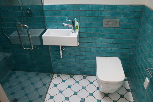 Tiled bathroom beach style bathroom auckland by for Washroom styles in pakistan