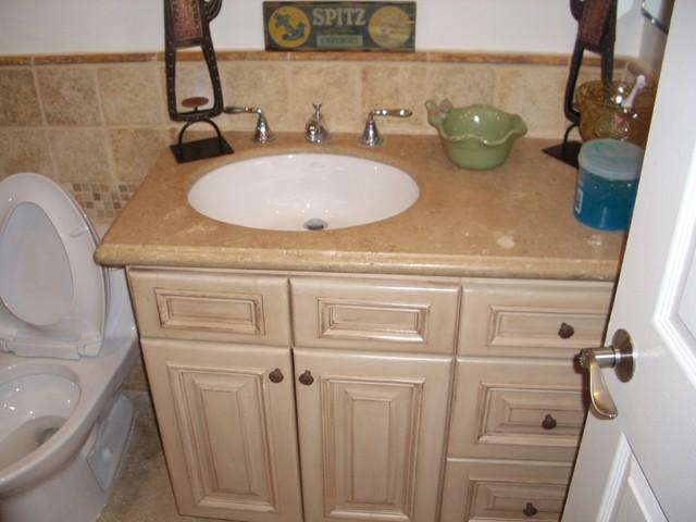 Tiled Bathroom Remodel traditional-bathroom