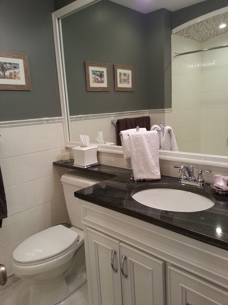 Tiled Walls - Traditional - Bathroom - Indianapolis - by ...