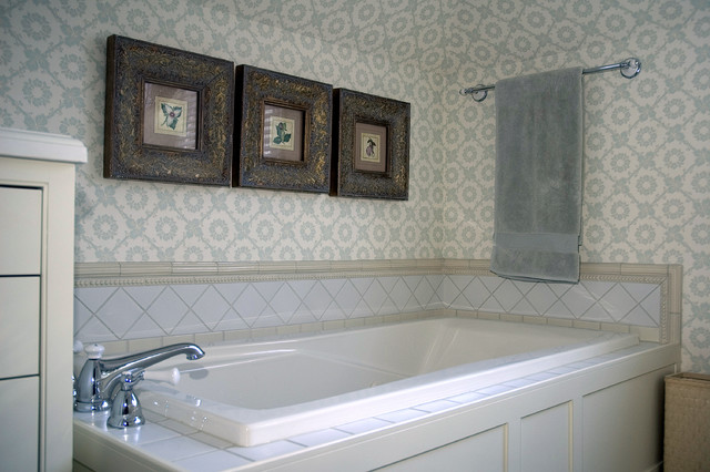 Tiling Projects traditional-bathroom