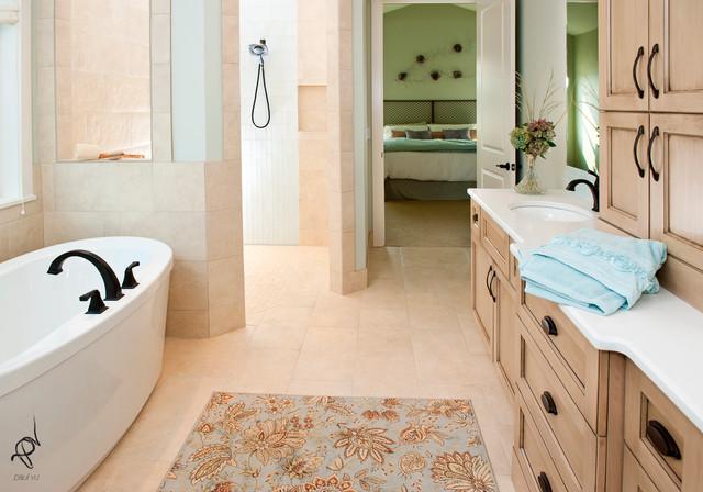 Timber Creek Show Home traditional-bathroom