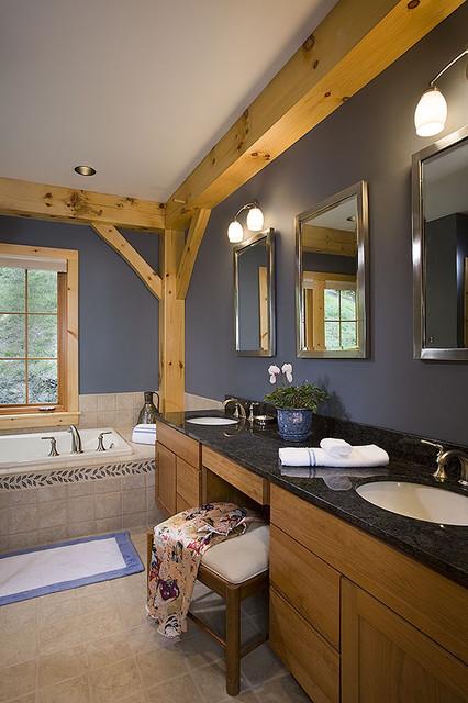 Timber Frame Bathrooms traditional-bathroom