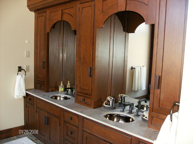 Timber Frame Bathrooms contemporary-bathroom