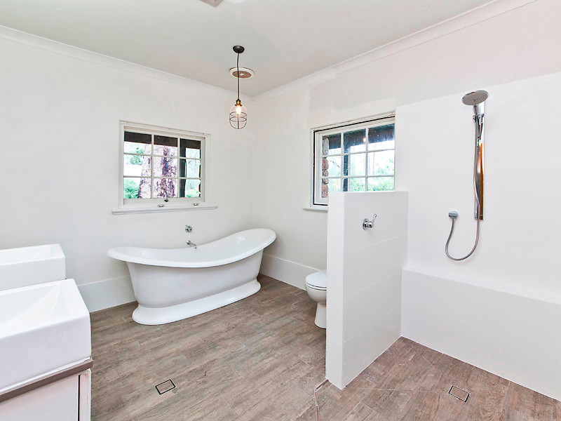Timber Tiles - Contemporary - Bathroom - Perth - by ...