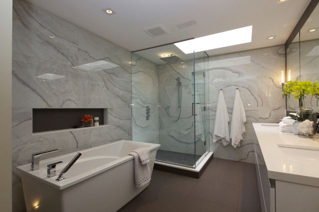 Timberlane Renovation modern-bathroom