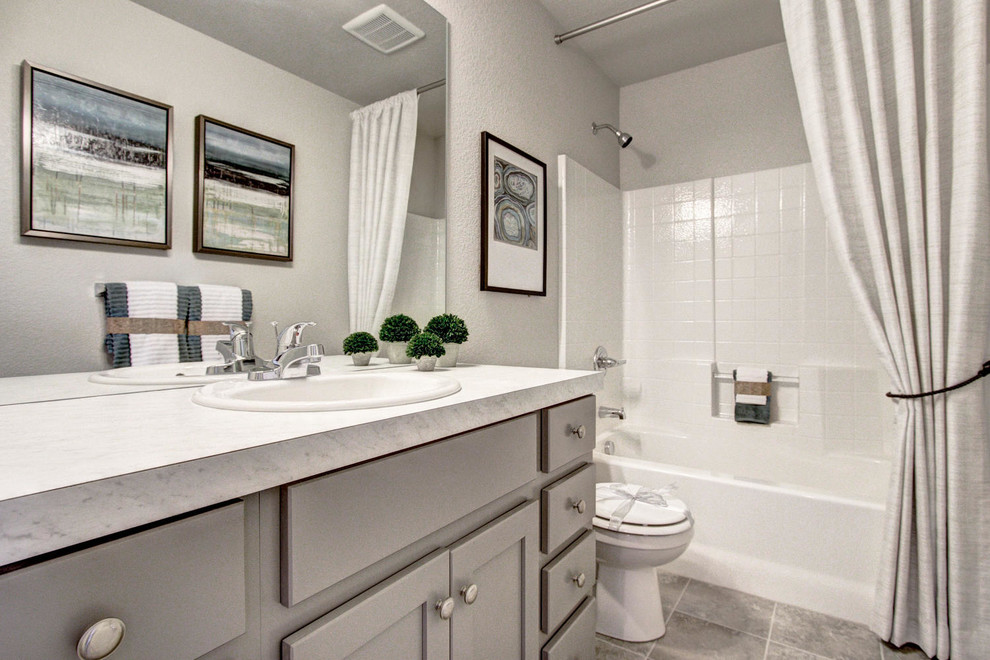 TimberVine | Fort Collins - Contemporary - Bathroom ...