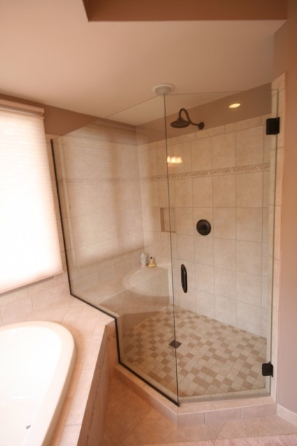 Time to change ann arbor kitchen remodel traditional bathroom detroit by dreammaker - Change your old bathroom to traditional bathrooms ...