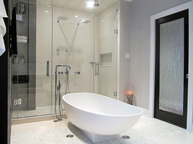 timeless elegance - modern - bathroom - other -