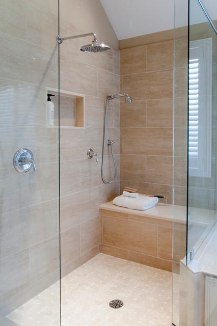 Timeless Master Bath Renovation - Traditional - Bathroom ...