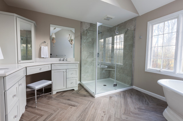 Timeless Traditional, Master Bathroom - Traditional ...