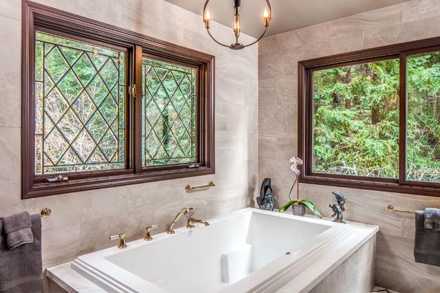Timeless Tudor Whole House Remodel Santa Cruz Traditional Bathroom Other By Santa Cruz
