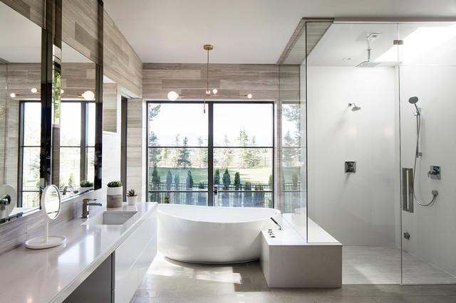 Timpanogos House In Utah County Lloyd Architects Contemporary Bathroom Salt Lake City