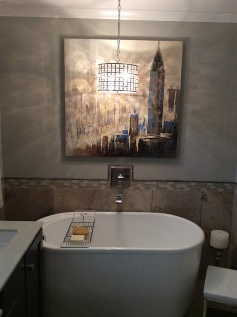 Tiny bathroom transitional bathroom birmingham by for Bathroom builders birmingham