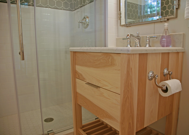 Tiny Vanity Industrial Bathroom Milwaukee By Interior Changes Home Design