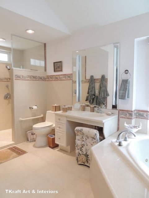 TKraft Art & Interiors traditional-bathroom