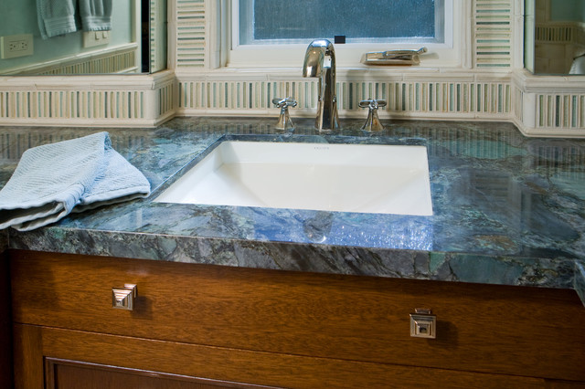 TL custom tile bathroom contemporary-bathroom