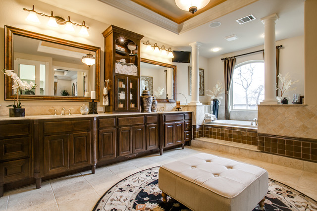 Toll Brothers Traditional Bathroom Dallas By Je