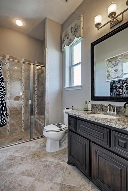 Toll brothers plano tx model contemporary bathroom for Model bathroom designs