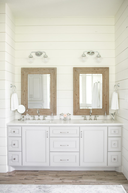 Tomball TX Farmhouse Bathroom Renovation Farmhouse Bathroom - Bathroom renovation houston