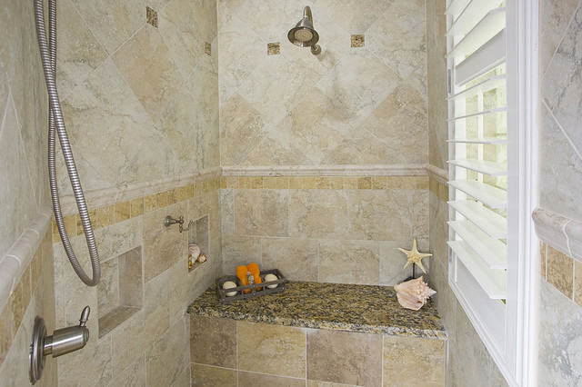 Tommy Bahama Inspired Spa Bath Traditional Bathroom