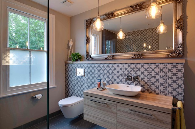 Tonbridge Bathroom Cloakroom Contemporary Bathroom Kent By Nicola Holden Designs