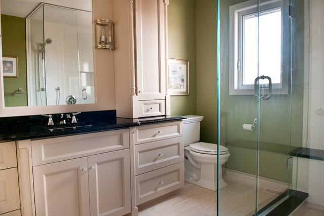 Tony & Judy's Ensuite traditional-bathroom