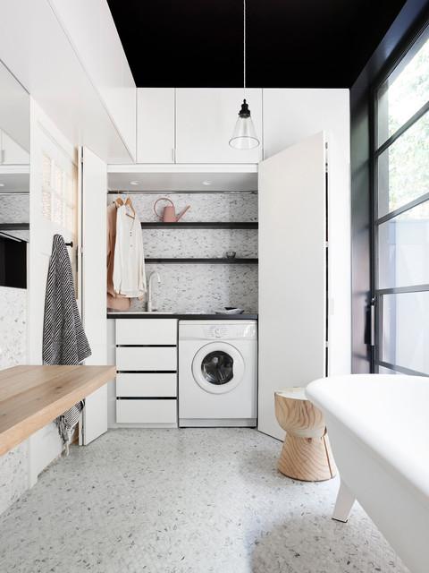 Toorak Texture contemporary-badrum