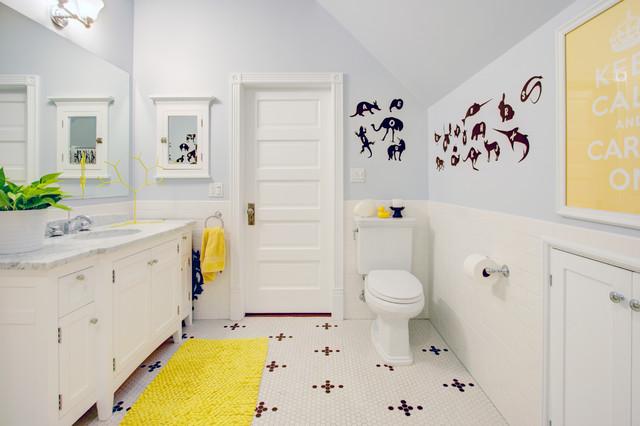 Top Floor Bathroom Addition contemporary-bathroom
