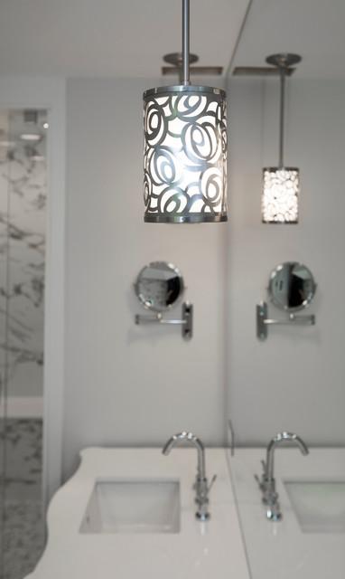Toronto Bridlepath Mansion Lighting contemporary-bathroom