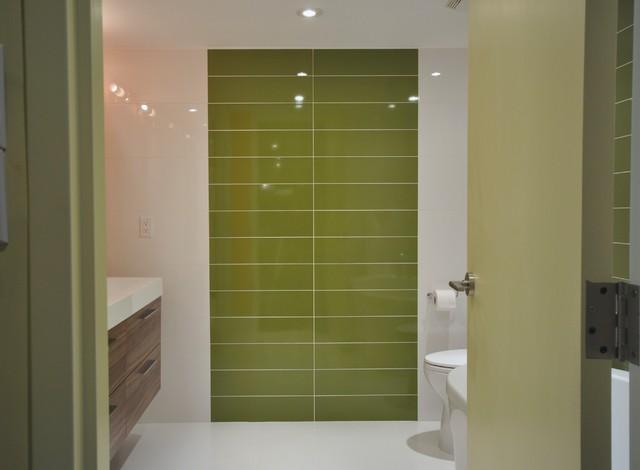 Toronto lakefront condo contemporary bathroom other for Interior designs by rhonda
