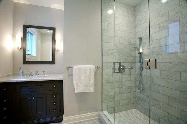 Toronto renovation traditional bathroom toronto by heintzman sanborn architecture - Bathroom design toronto ...