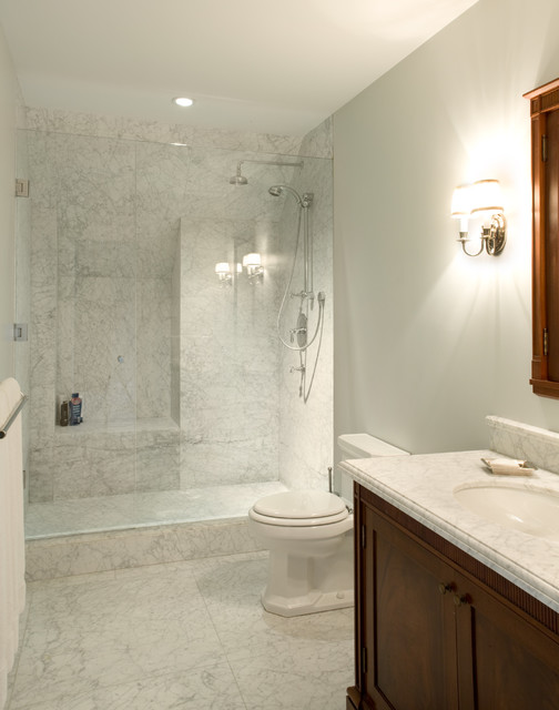 Toronto restoration traditional bathroom other metro by heintzman sanborn architecture - Bathroom design toronto ...