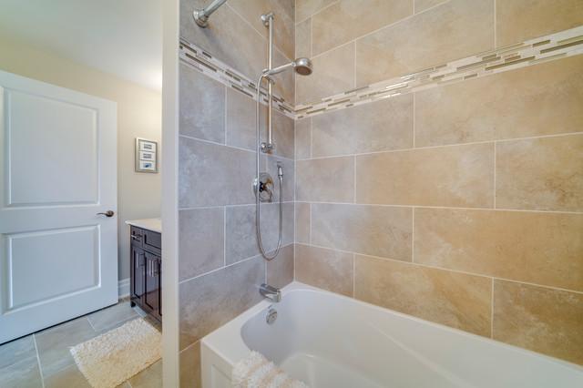 Toronto young court custom home traditional bathroom for Bathroom cabinets nanaimo