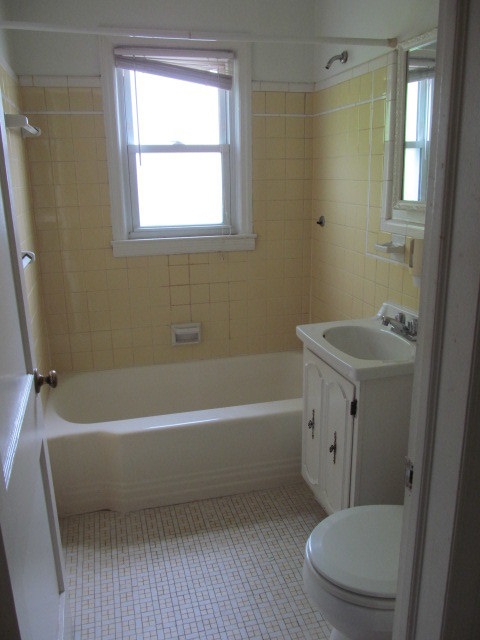 Total renovation inside out traditional bathroom for Total bathroom remodel