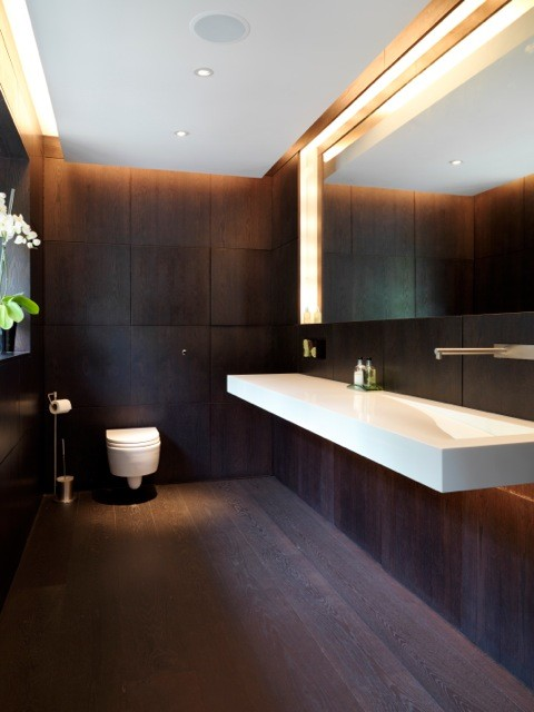 Totteridge interior design contemporary bathroom for Bathroom interior design london