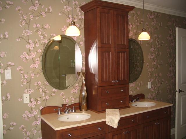 Tout en douceur contemporary-bathroom