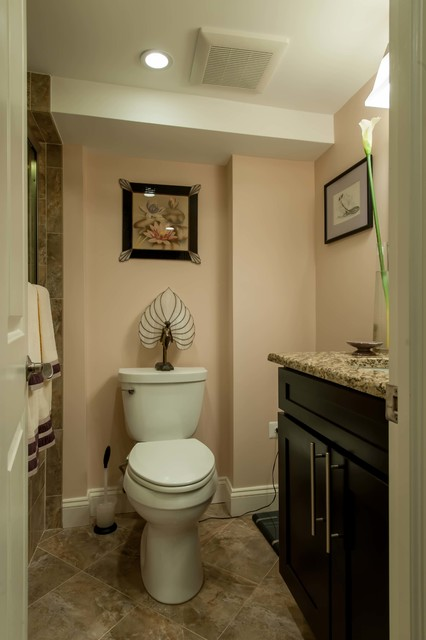 Townhouse Bathroom Revitalized In North Old Town Alexandria Traditional Bathroom Dc Metro By Michael Nash Design Build Amp Homes