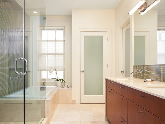 townhouse bathrooms contemporary bathroom philadelphia by wyant architecture. Black Bedroom Furniture Sets. Home Design Ideas