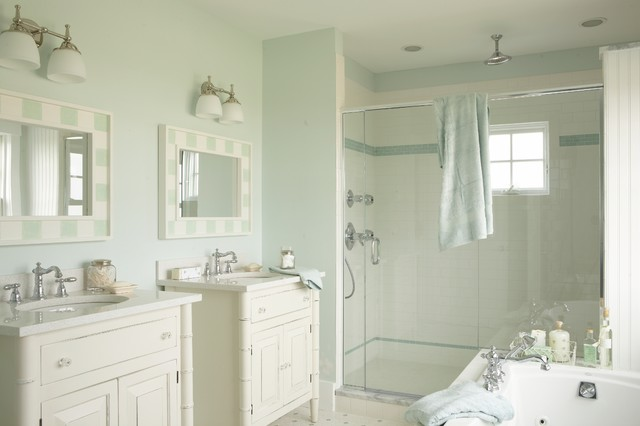 Wonderful Tracey Rapisardi Design Beach Style Bathroom