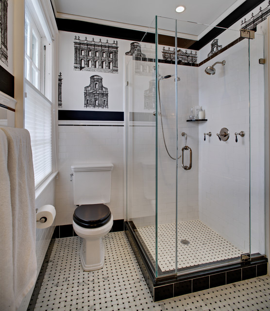 tracey stephens interior design inc traditional bathroom - New York Bathroom Design