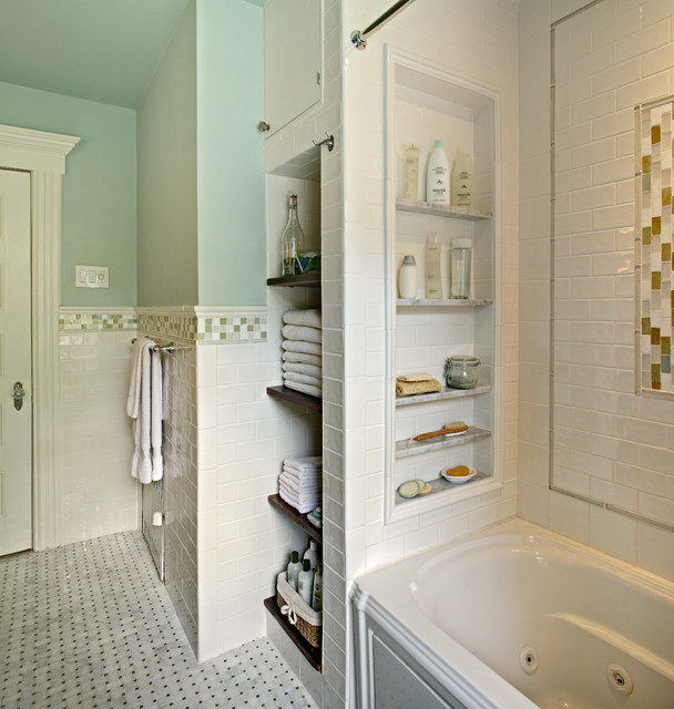 Tracey Stephens Interior Design Inc - traditional - bathroom - new