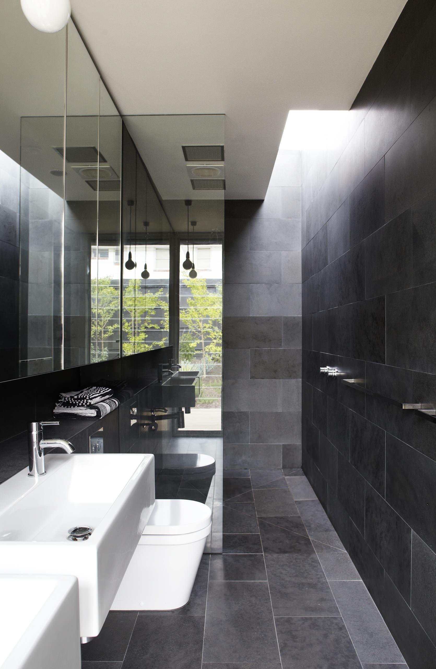 Plexiglass Bathroom Wall Houzz