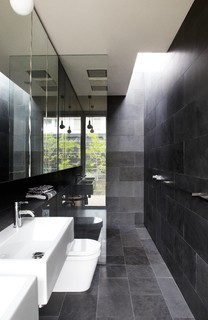 Tracie Ellis 39 Home Midcentury Bathroom Melbourne By Sharyn Cairns