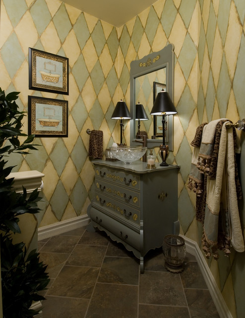 Traditional and Timeless traditional-bathroom