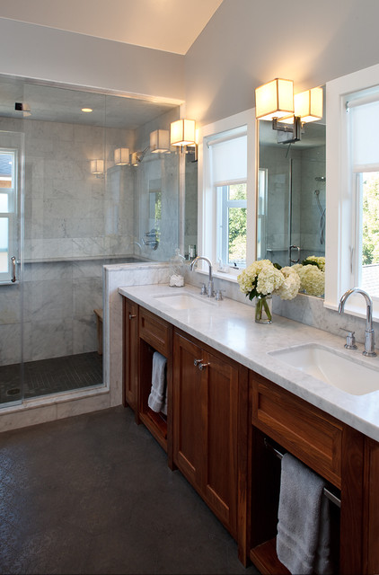 "Mill Valley ""home Sweet home"" traditional-bathroom"